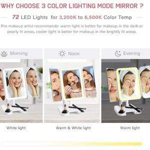 Bath - Mirror Vanity Mirror with Lights, 3 Color modes